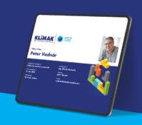 Klimak employer branding onboarding card